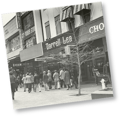 Darrell Lea Historical Storefront